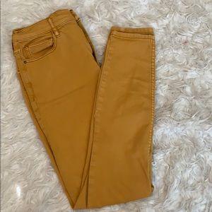Free people five pocket skinny jeans